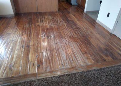 wood floor refinishing in south jordan ut before
