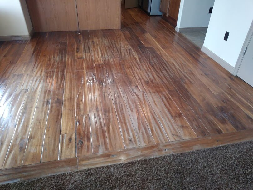 before wood floor refinishing in south jordan ut