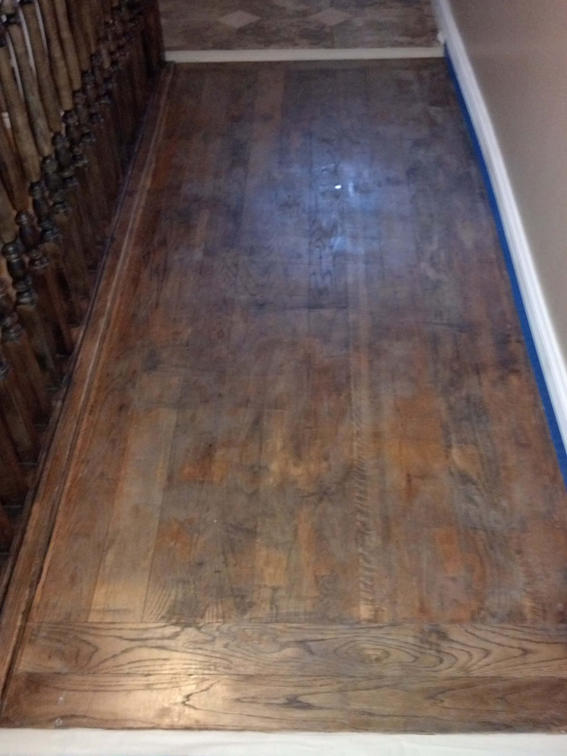 before hardwood floor refinishing in salt lake city ut