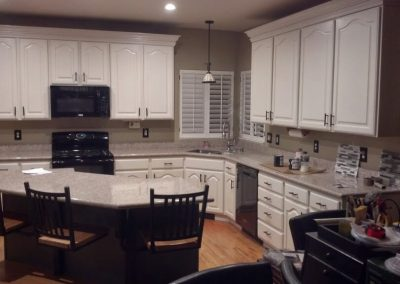 cabinet refinishing in draper after