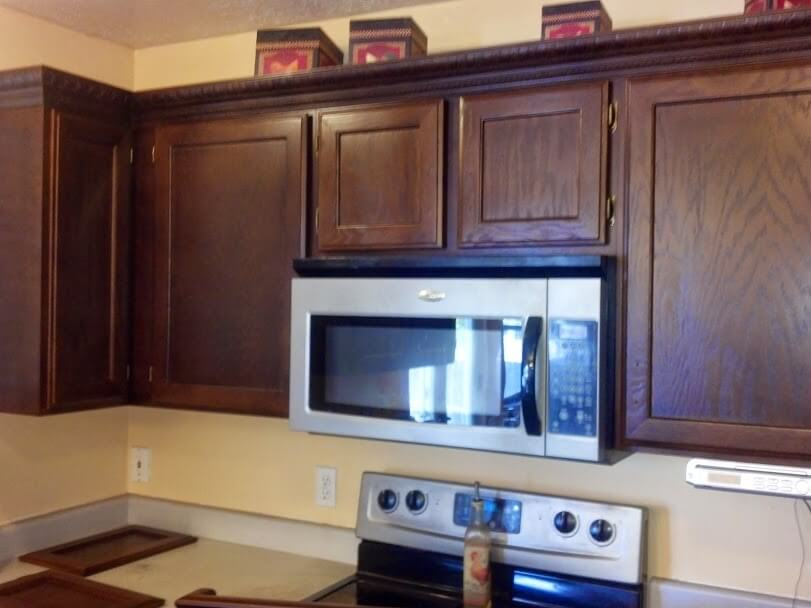 after cabinet refinishing in murray ut